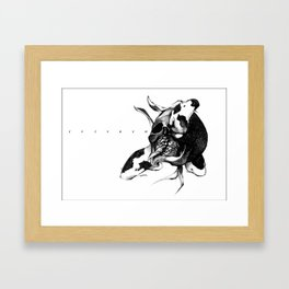 We three Koi Framed Art Print
