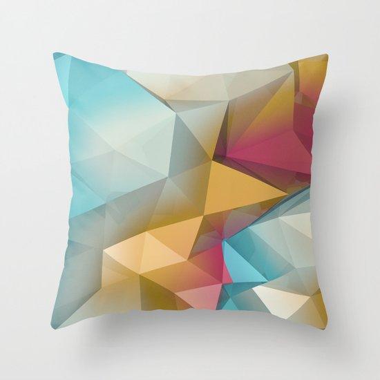 Land Sphere Throw Pillow
