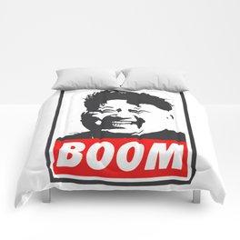 Boom (Kim Jong Un) Comforters
