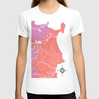 michigan T-shirts featuring Marquette, Michigan by Leigh DiFulvio