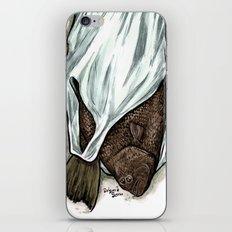 Flatfish and mushrooms. iPhone & iPod Skin
