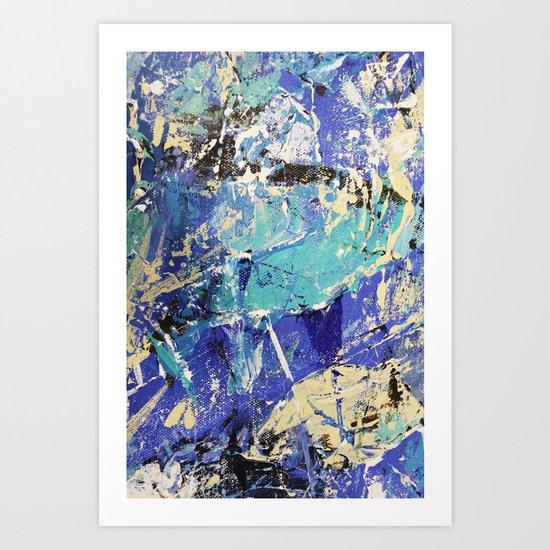 Wasser 10 Art Print