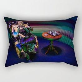 Tea & Tesseract Rectangular Pillow