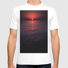 Ending Colors Mens Fitted Tee White MEDIUM