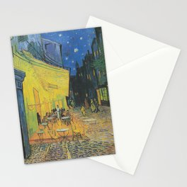 Café Terrace at Night,  Vincent van Gogh Stationery Cards