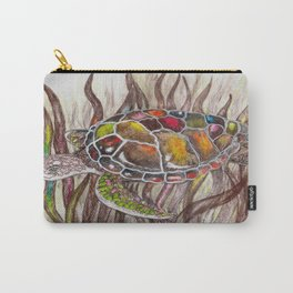 Tripping turtle Carry-All Pouch