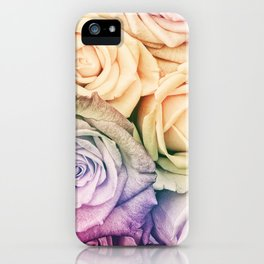 Some people grumble - Colorful Roses - Rose pattern iPhone Case