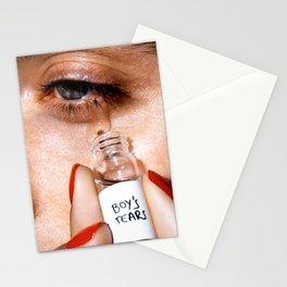 Boy's Tears Stationery Cards