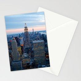 New York City Dusk Stationery Cards