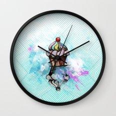 ColorCake Wall Clock