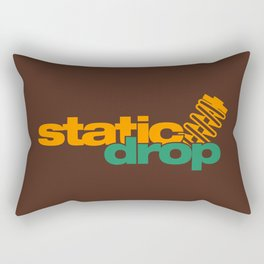 Static drop v6 HQvector Rectangular Pillow