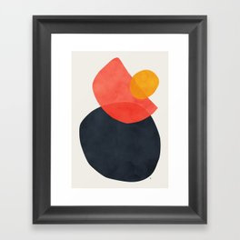 Balance Framed Art Print