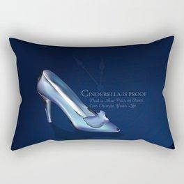 Cinderella New Shoes Rectangular Pillow