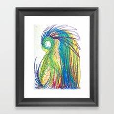 Psychic tea Framed Art Print