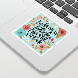 Pretty Sweary: It Looks Like It's Fuck this Shit O'Clock Sticker
