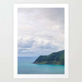 View From Paku Summit Art Print