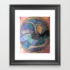 The Mark Of Authenticity Framed Art Print