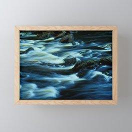 River Park Framed Mini Art Print