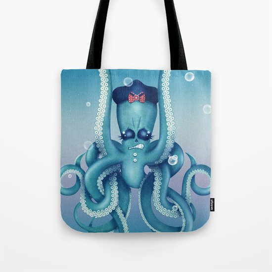 Octopus Dilemma Tote Bag