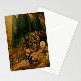 """Pieter Bruegel (also Brueghel or Breughel) the Elder """"Conversion of Paul"""" Stationery Cards"""