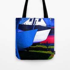 Water Blade Tote Bag