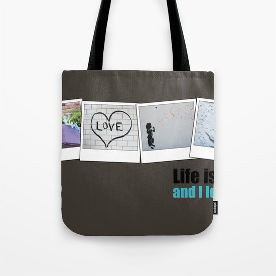 Life is ART Tote Bag