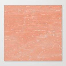 Coral Stone Canvas Print