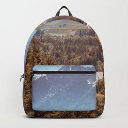Grand Teton National Park Snake River Overlook Print Backpack