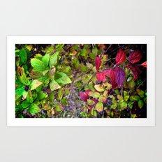 Autumn study, four. Art Print