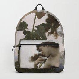 William-Adolphe Bouguereau - Dawn Backpack