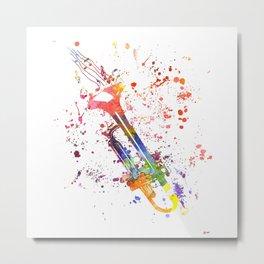 Trumpet Metal Print