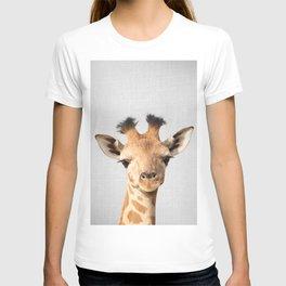Baby Giraffe - Colorful T-Shirt