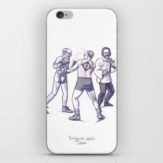 Freud, Jung, and Watts, walk into a bar... iPhone & iPod Skin