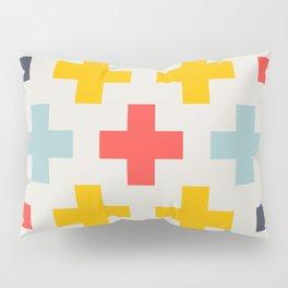 Retro Cross Heaven Pillow Sham