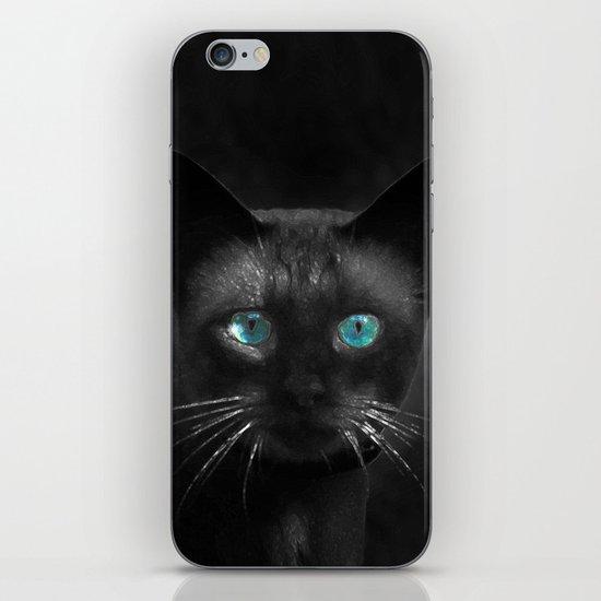 Siamese Blue iPhone & iPod Skin