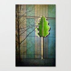 The Modernist Tree Canvas Print