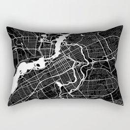 Ottawa - Minimalist City Map Rectangular Pillow