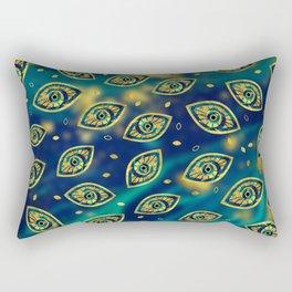 Nazar Eye Amulet pattern #2 Rectangular Pillow