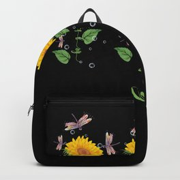 Kansas City Hays City Sunflower hope love Gifts For Men Women Backpack