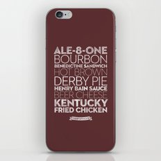 Louisville —Delicious City Prints iPhone & iPod Skin