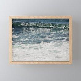 Aqua Teal Deal Framed Mini Art Print