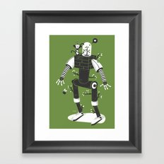 La herbe ex machina Framed Art Print