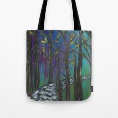 Illuminated Path Tote Bag