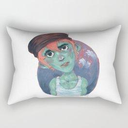 Sailor, where are you? Rectangular Pillow