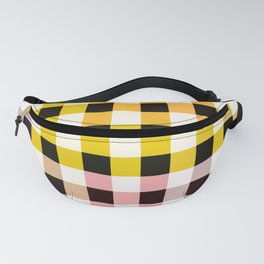 Colorful Checker 05 Fanny Pack