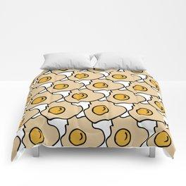 Fry Egg #homedecor Comforters