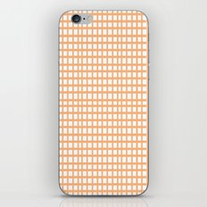 LINES in APRICOT iPhone & iPod Skin