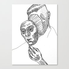 Mask 01 Canvas Print