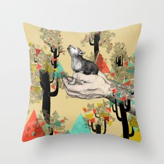 Found You There  Throw Pillow