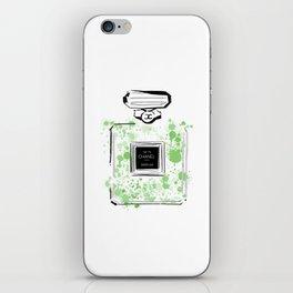 Green Perfume 2 iPhone Skin